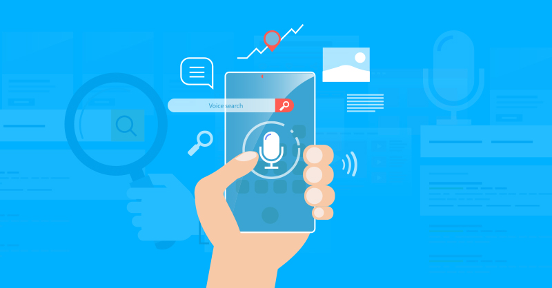 digital marketing trends 2019 - voice search